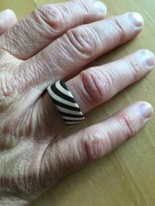 Fingerring Prototyp auf Anfrage erhältlich